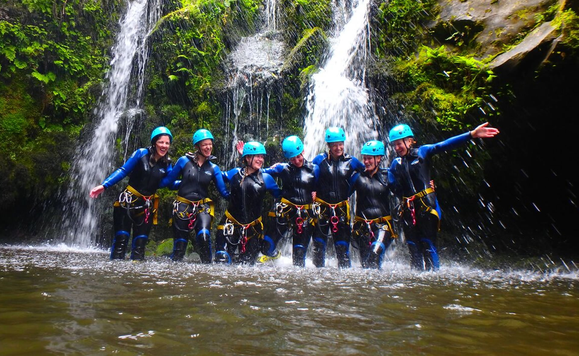 S.MIGUEL: CANYONING CALDEIRÕES